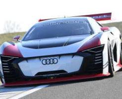 レーシングタクシーAudi e-tron Vision Gran Turismo