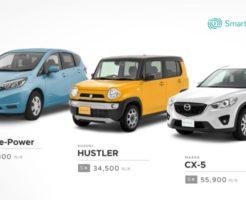 コネクテッドカーリース(SmartDrive Cars)